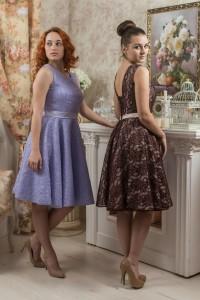 PL-1010 Платье «Рельефы кружевные»