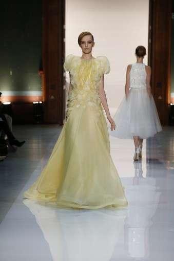 Новые свадебные платья от Джорджа Хобейка