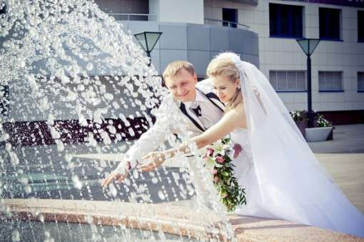 Свадьба в аномальную жару