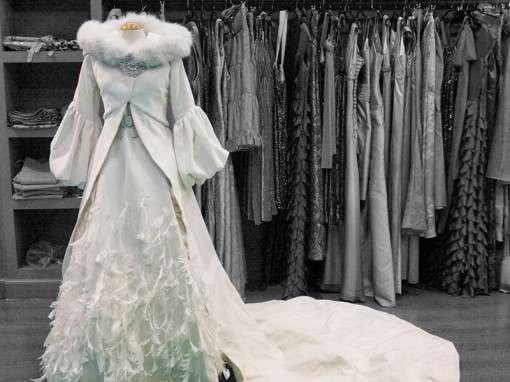 Зимние свадебные наряды