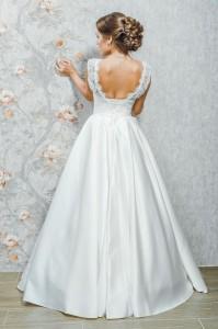 PL-1510 Платье с открытой спиной