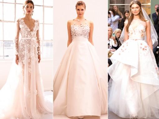 свадебные платья мода 2017