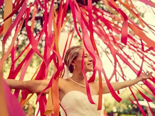 ленты на свадьбе